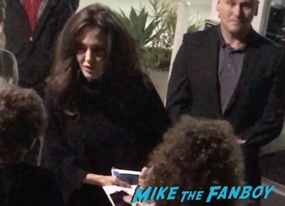 Angelina Jolie Signing Autographs before a q and a of First They Killed My Father 5
