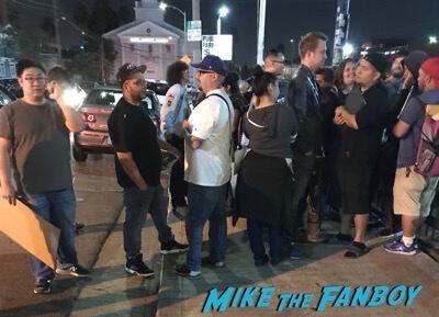 Arnold Schwarzenegger dissing fans beyond fest no autographs 7
