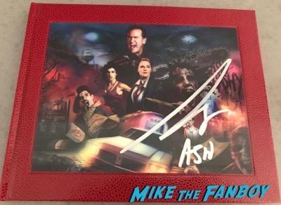 Bruce Campbell signed autograph ash vs evil dead season 2 presskit