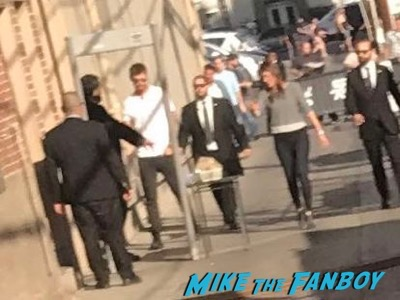 Chris Hemsworth Dissing ignoring Fans Jimmy Kimmel Live 1