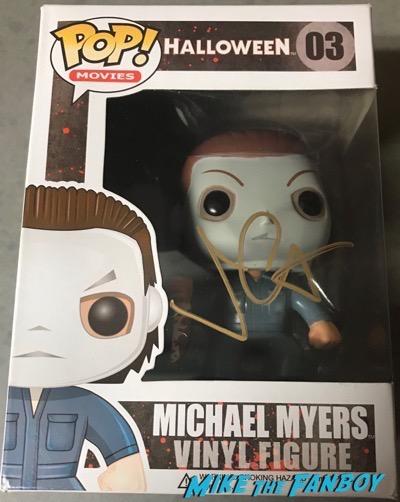 John Carpenter signed autograph Michael Myers funko pop vinyl