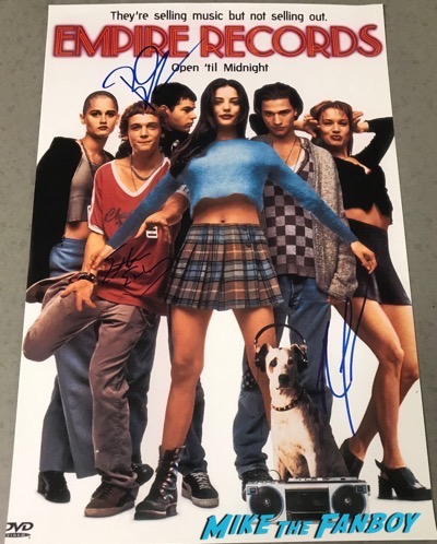 Renée Zellweger signed autograph Empire Records poster PSA