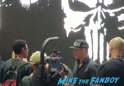 SDCC Punisher autograph signing 2017 1 2