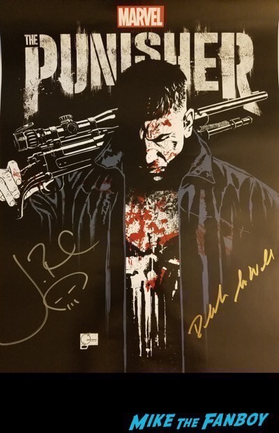 SDCC Punisher autograph signing 2017 1 2