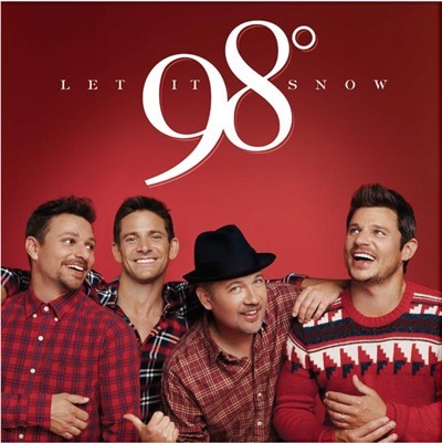 98 degrees signed autograph christmas album