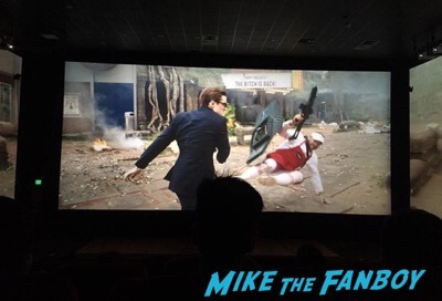 Screen X Movie theater review kingsmen 1
