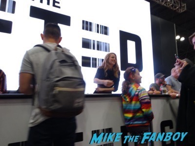 The Gifted Cast autograph Signing NYCC6