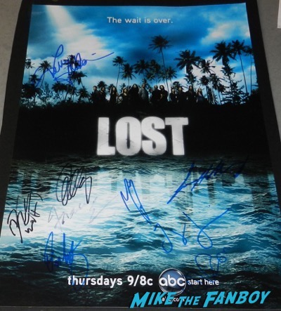 Terry O'Quinn signed autograph lost poster