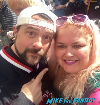Kevin Smith Selfie, meeting fans