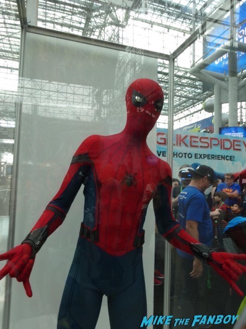 spider-man booth NYCC 6