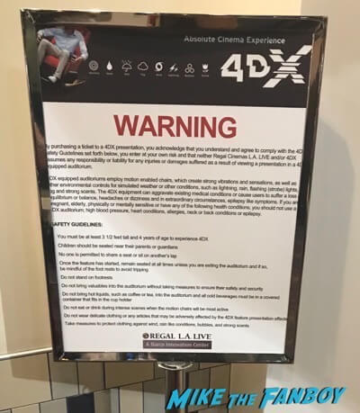 4DX Regal LA Live Review4
