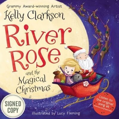 Kelly Clarkson signed river rose book