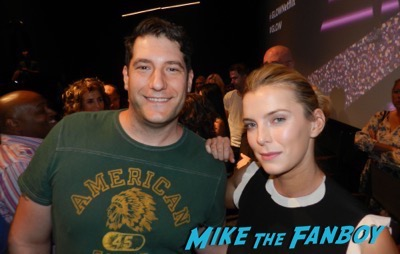 GLOW q and a meeting Betty Gilpin fan photo