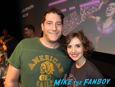 GLOW q and a meeting Alison Brie fan photo