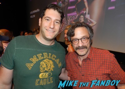 GLOW q and a meeting Marc Maron fan photo