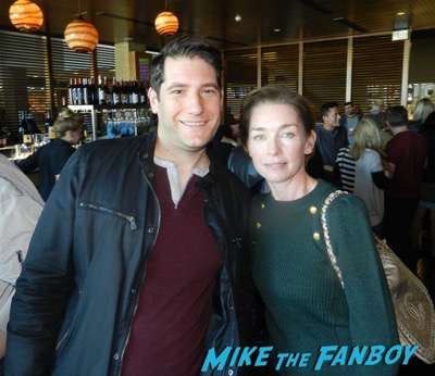 Julianne Nicholson with fans selfie mike the fanboy