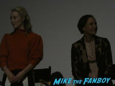Lady Bird FYC q and a Saoirse Ronan meeting fans