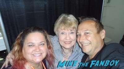Pat Priest fan photo meeting fans