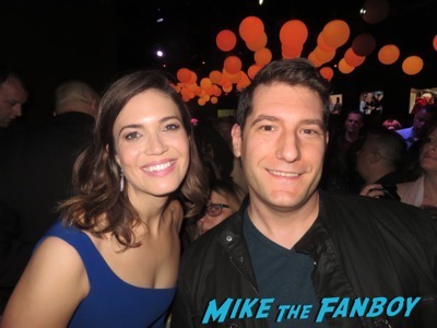 Mandy Moore fan photo meeting fans