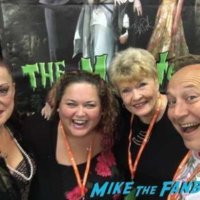 lisa loring and pat Priest fan photo meeting fans selfie