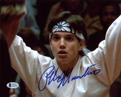 Ralph Macchio signed autograph photo  2