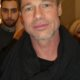 Brad Pitt meeting fans signing autographs 1