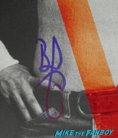 Brad Pitt signed autograph V magazine cover hot