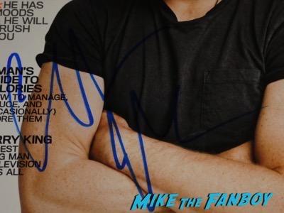 Christian Bale signed autograph GQ magazine