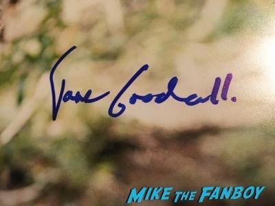 Jane Goodall signed autograph photo psa rare Jane Goodall signed autograph photo psa rare