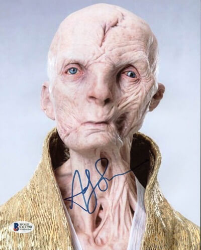 Andy Serkis signed autograph photo