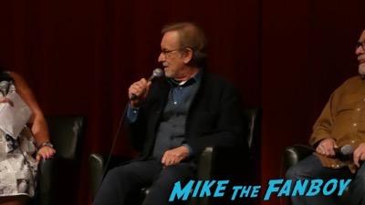 Steven Spielberg signing autographs for fans selfie rare 4