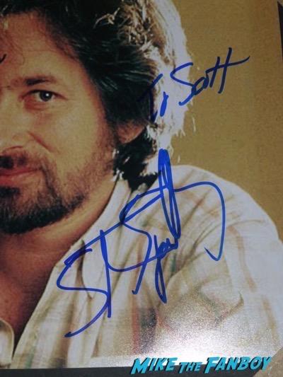 Steven Spielberg signed autograph ET photo poster PSA