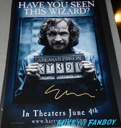 Gary Oldman signed autograph Harry Poster Wanted poster PSA