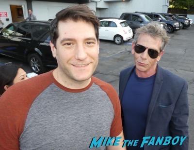 Ben Mendelsohn meeting fans signing autographs