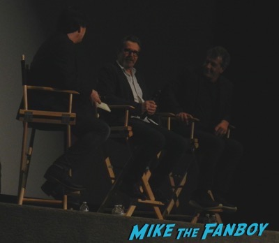 The Darkest Hour Q and a Meeting Gary Oldman Ben Mendelsohn signing autographs 2
