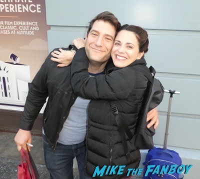 Alanna Ubach meeting fans 5