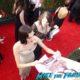 Allison Williams signing autographs SAG Awards