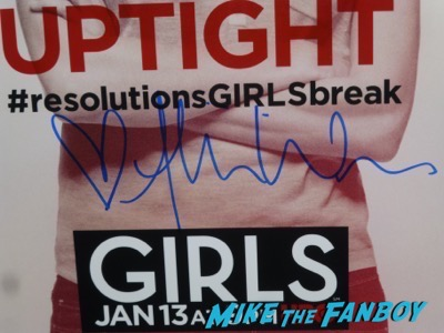 Allison Williams signed autograph Girls Marnie Poster