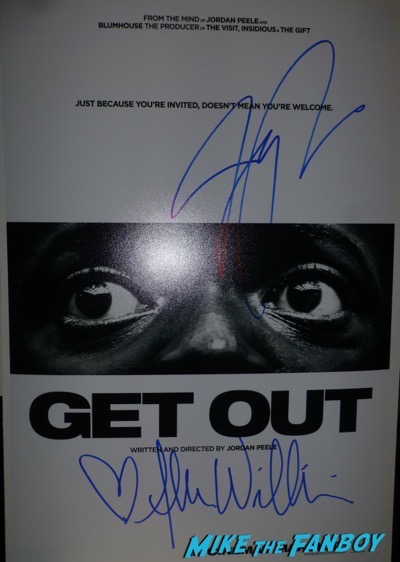 Allison Williams signed autograph Get Out Poster