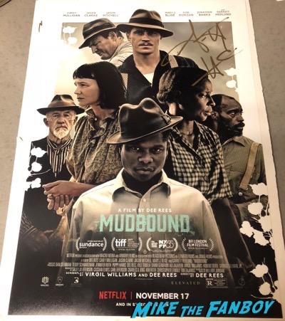 Garrett Hedlund signed autograph Mudbound poster psa rare 5