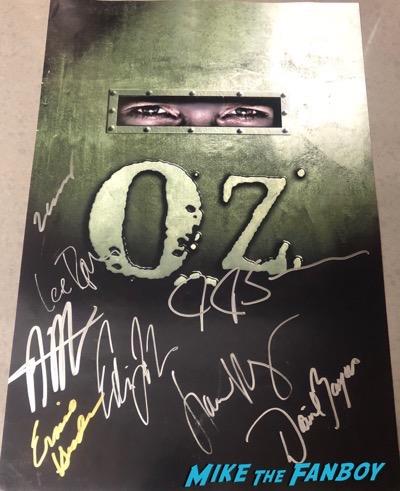 Ernie Hudson signed autograph OZ Poster PSA