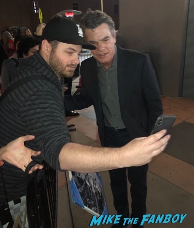 Peter Gallagher signing autographs Grace and Frankie premiere signing autographs 5