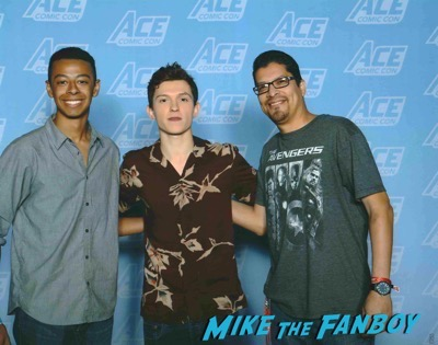 Tom Holland Photo opp ACE Comic con