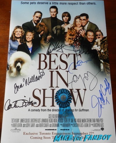 Jennifer Coolidge best in show signed autograph poster psa
