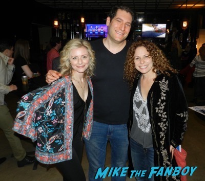 Jessica Cauffiel with fans now Legally Blonde q and a reunion jennifer Coolidge Jessica Cauffiel 1