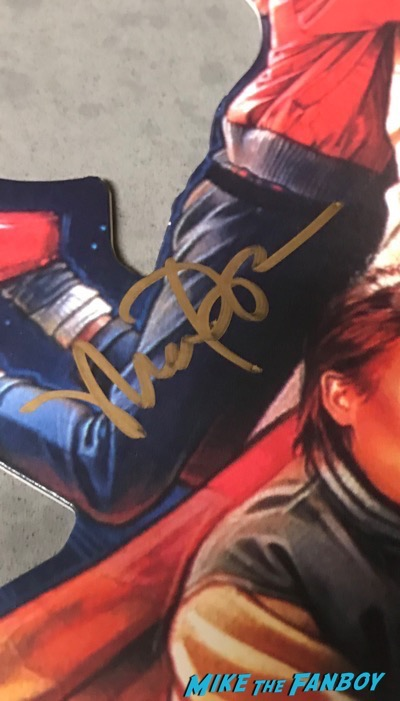 Maia Brewington Keith Coogan adventures in Babysitting video store mobile signed autograph