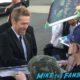 Willem Dafoe signing autographs Palm Springs Film Festival 2017 signing autographs selfie 1