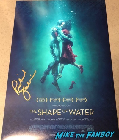 Richard Jenkins signed autograph The Shape of Water poster Richard Jenkins signed autograph The Shape of Water poster