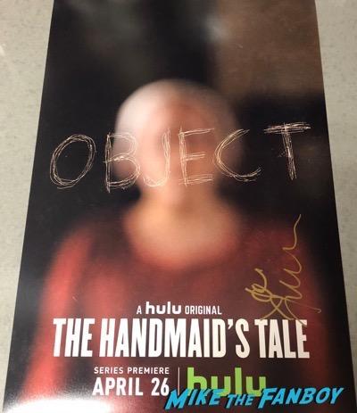Joseph Fiennes Signed Autograph The Handmaid's Tale Poster PSA