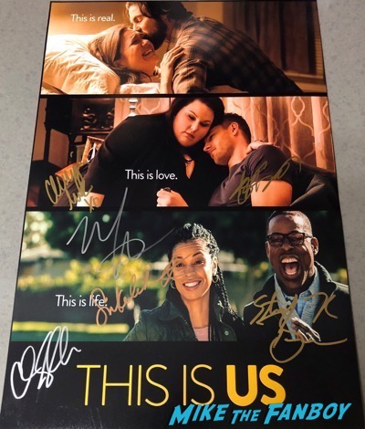 Sterling K Brown Signed Autograph This Is Us Poster PSA
